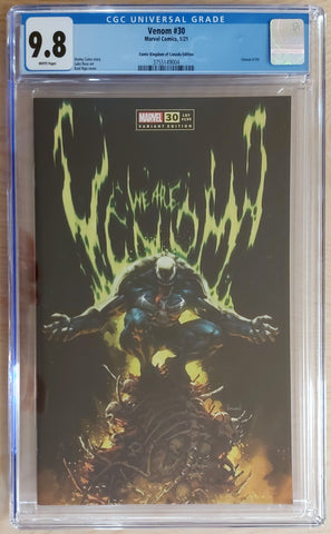 Venom #30 - CK Exclusive Cover A - CGC Graded 9.8 Slab - Kael Ngu