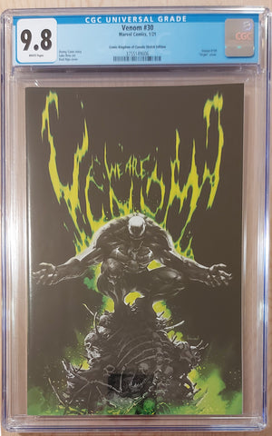 Venom #30 - CK Exclusive Cover B - CGC Graded 9.8 Slab - Kael Ngu