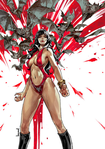 Vampirella #1 - CK Exclusive Virgin Variant - Kael Ngu