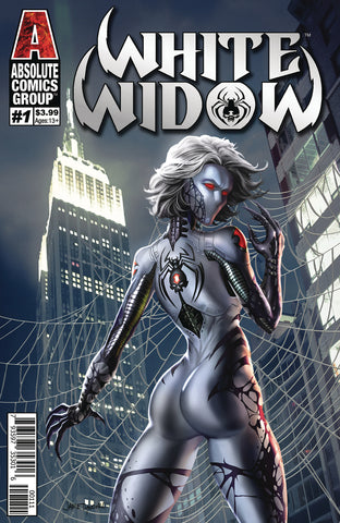 White Widow #1 - Signed (Benny Powell) and Unsigned - Jamie Tyndall