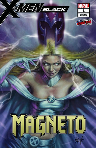 X-Men: Black: Magneto #1 - Exclusive Variant - Lucio Parrillo