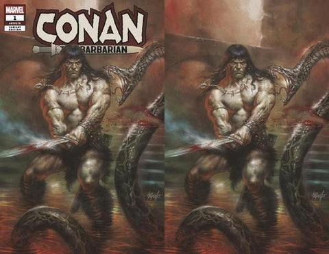 Conan the Barbarian #1 - CK Elite Exclusive - Lucio Parrillo