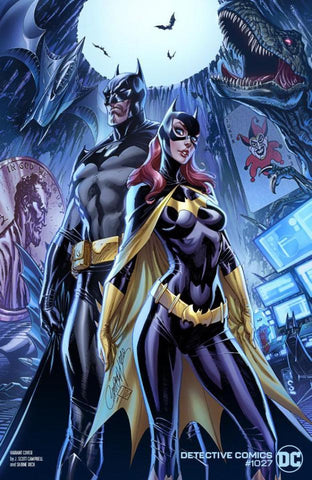 Detective Comics #1027 - Cover C - J. Scott Campbell, Sabine Rich