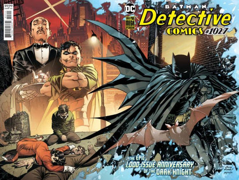 Detective Comics #1027 - Cover A - Adam Kubert