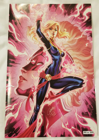CAPTAIN MARVEL #7 SDCC J.SCOTT CAMPBELL