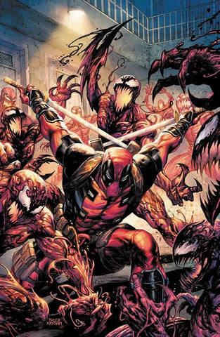 Absolute Carnage vs. Deadpool #1 (OF 3) - Virgin Variant - Tyler Kirkham