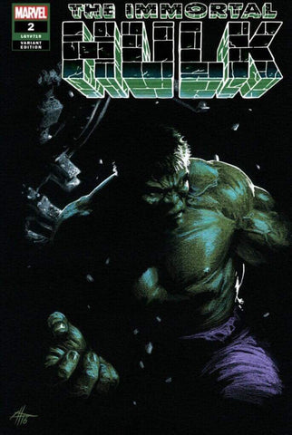 Immortal Hulk #2 - 5th Printing Variant 2 - Gabriele Dell'Otto