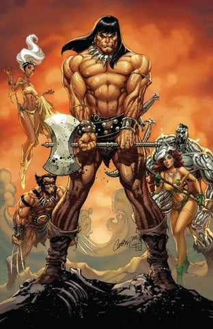 Conan the Barbarian #1 - J. Scott Campbell