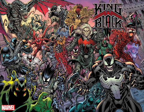 King in Black #1 - 1:200 Ratio Every Symbiote Ever Wraparound Variant - Todd Nauck
