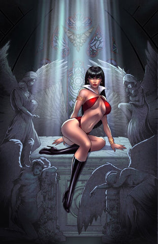 Vampirella #1 - CK Exclusive Virgin Variant - Sorah Suhng / Kate Colors
