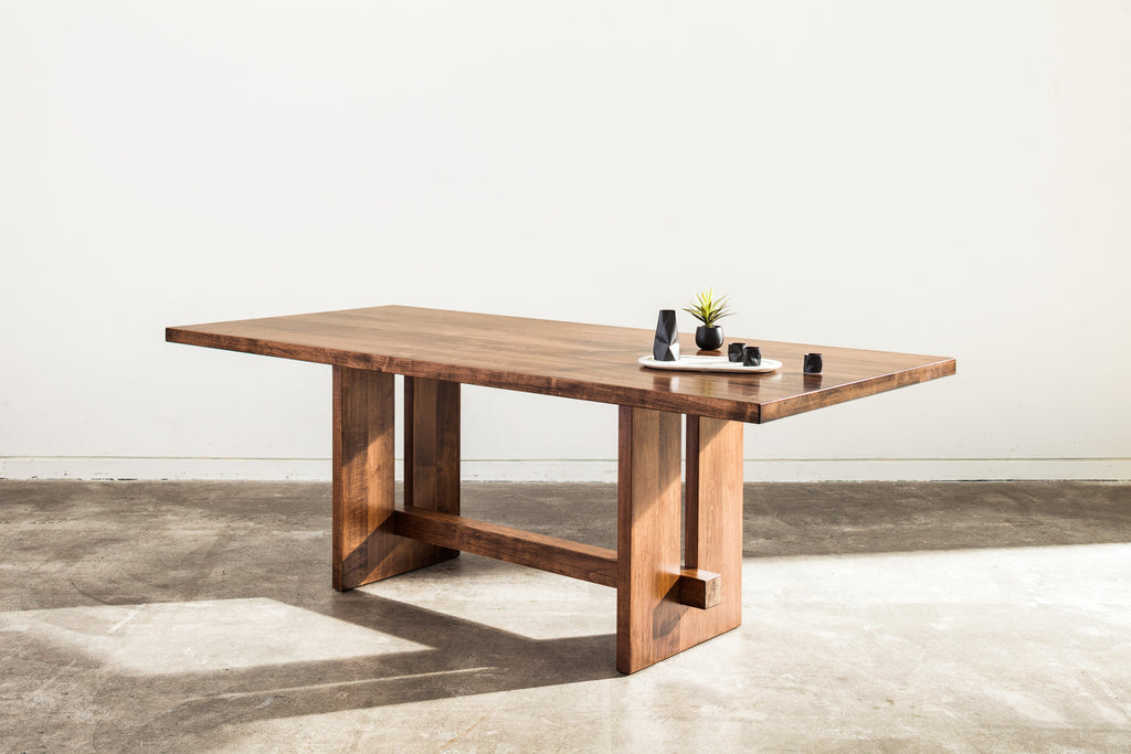 Meet the Kantan, a Japanese inspired dining table