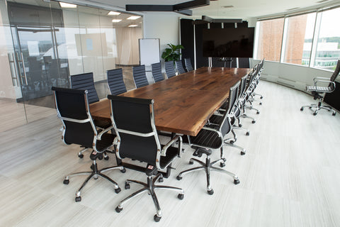 Custom-made Commercial Boardroom Table in Toronto