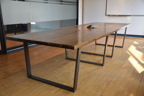 Custom Wood Boardroom Table