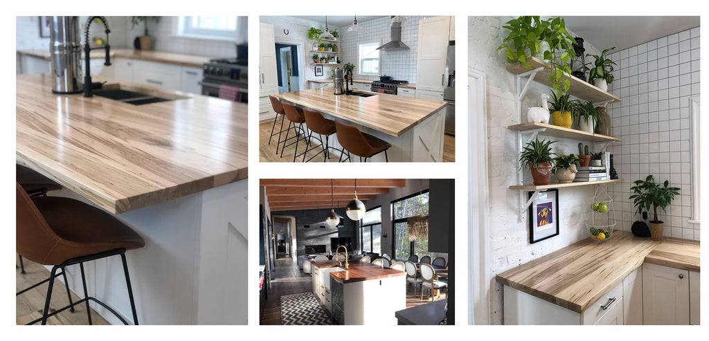 solid wood countertops in the gta