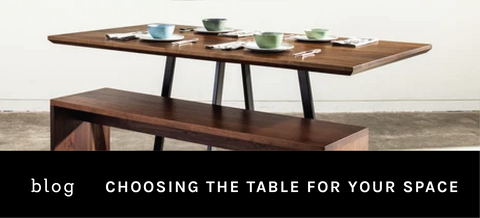 how to choose the right dining table for your space
