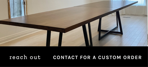 Contact us for a quote for custom furniture