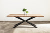Oak Dining Table - Starburst Base