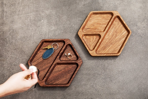 Solid Wood Trays Catchall, Jewelry, Everyday Trays