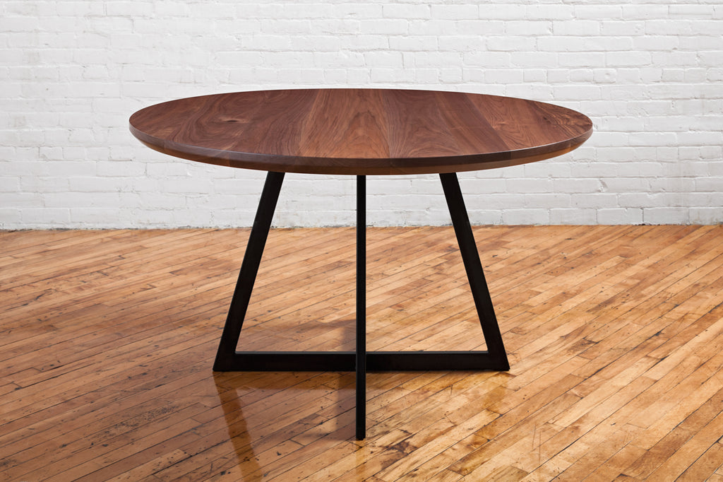 Walnut Bistro Dining Table
