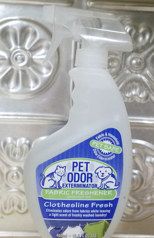 Fabric Spray Pet Odor Exterminator