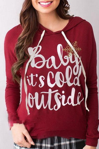 Red Holiday Hoodie