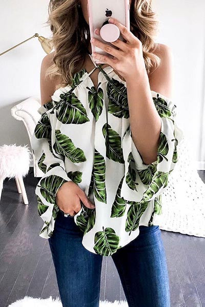 Green Leaf Blouse