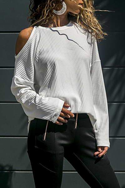 split-sleeve-round-neck-cold-shoulder-top-on-trend-ribbed-t-shirt