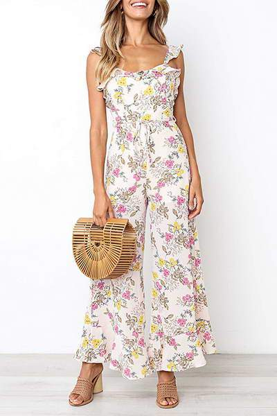 ruffle-strap-sleeveless-wide-leg-long-floral-print-romper-jumpsuit