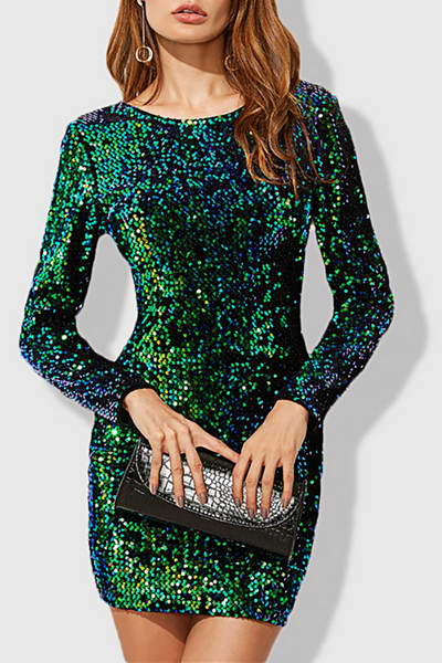 bracelet-sleeve-round-neck-short-luxe-sequin-mini-shift-dress