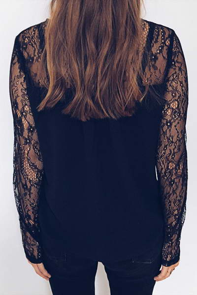 lace-sleeve-round-neck-regular-romantic-floral-embroidery-blouse