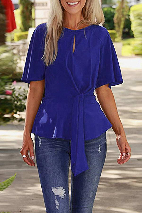 Bow Waist Blouse