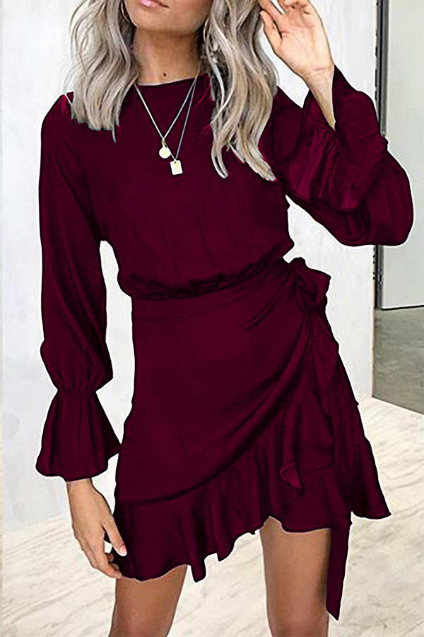 Tie Side Mini Dress