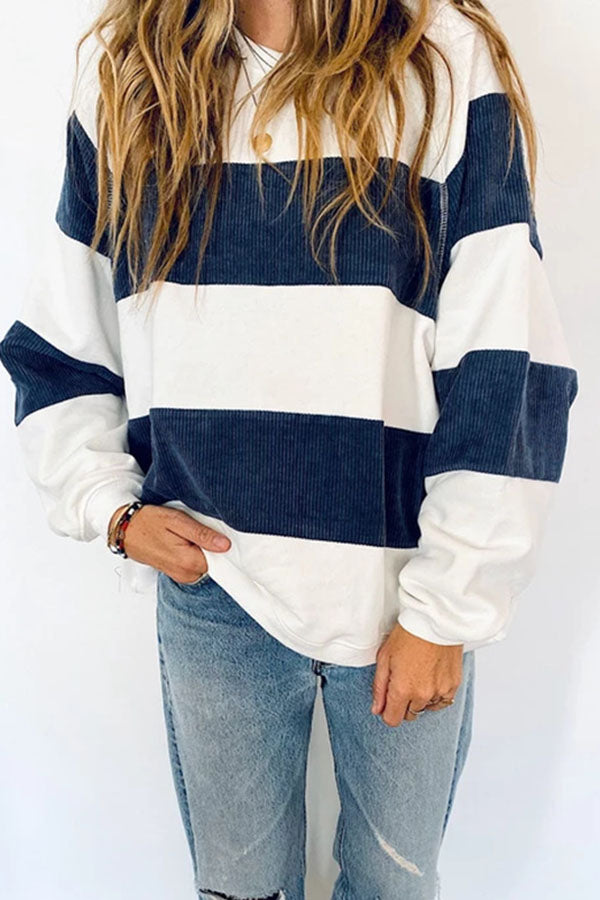 Patchwork Stripe T-Shirt