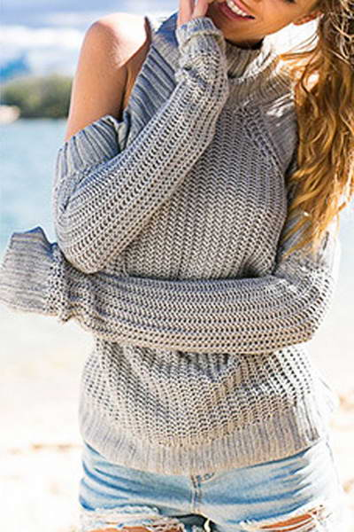 cold-shoulder-high-polo-neck-on-trend-plain-knitted-sweater-pullover