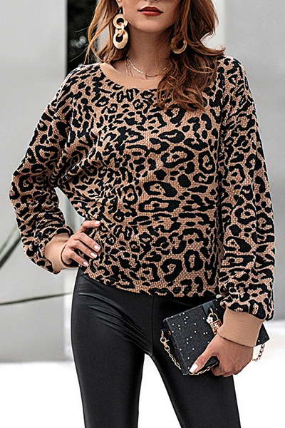 long-sleeve-crew-neck-wild-leopard-print-sweatshirt-top