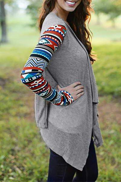 Tribal Sleeve Jacket