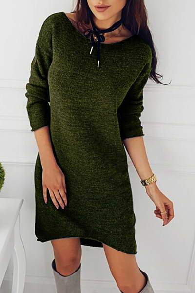 Simple Sweater Dress