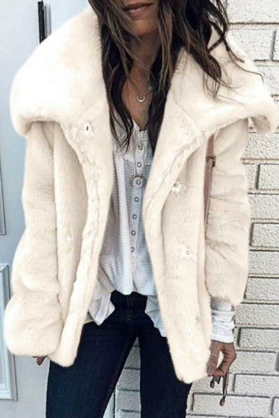 faux-plush-fur-long-sleeve-wide-collar-short-cozy-solid-color-jacket