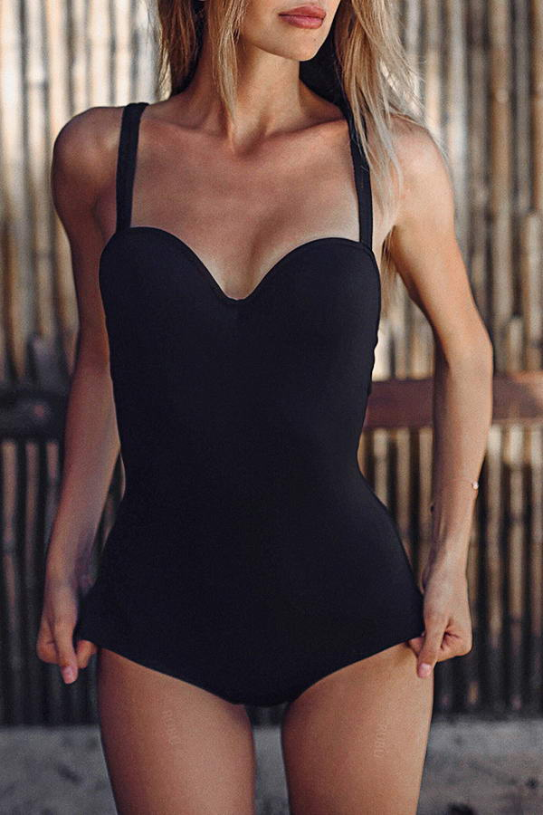 Sweetheart Neck Swimsuit