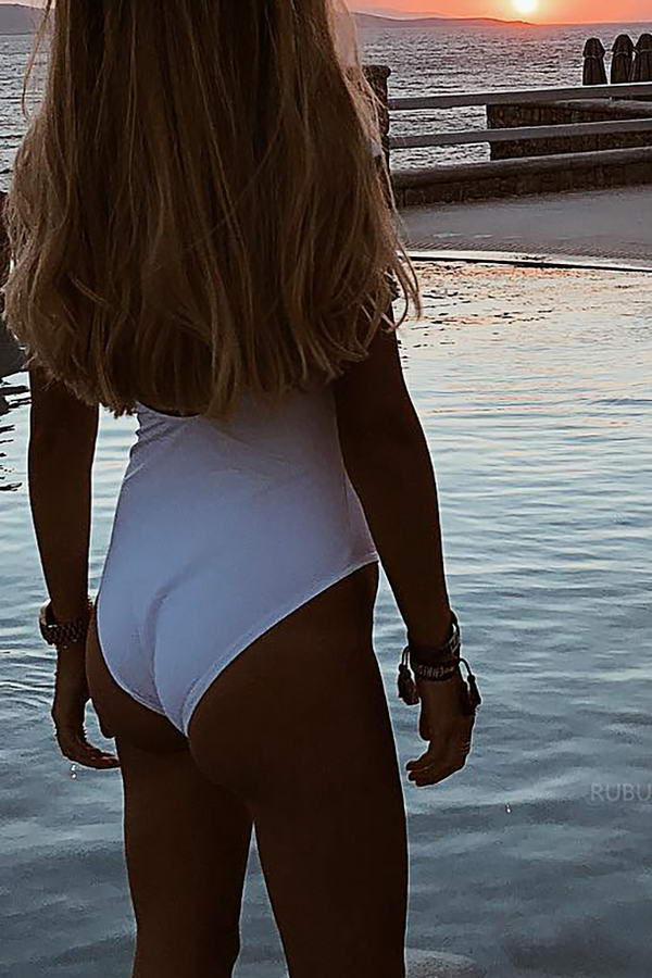Deep V Plunge Swimsuit