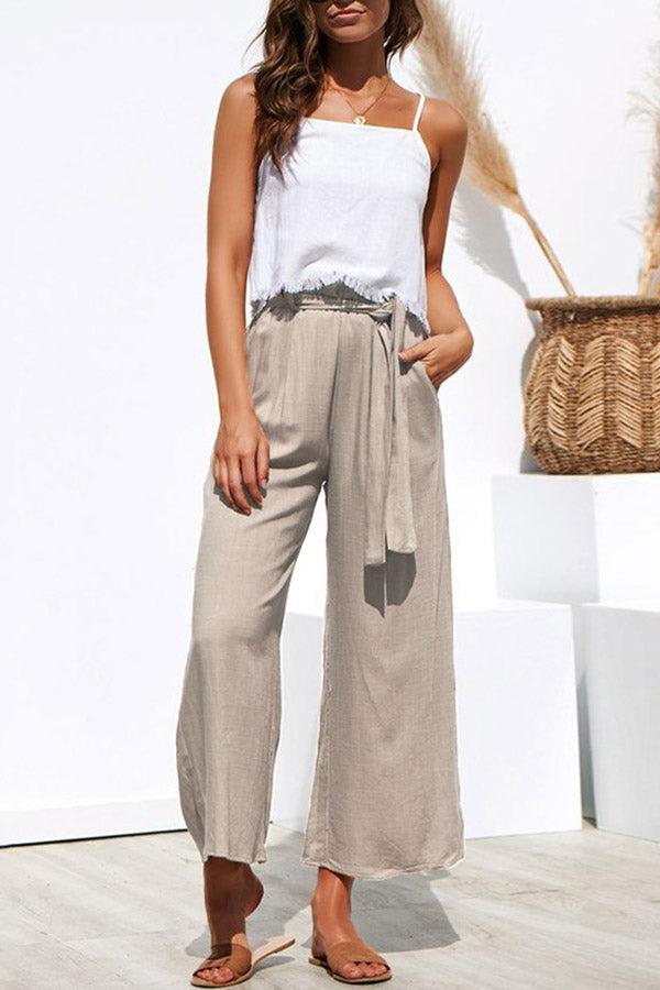 Cool Cotton-Linen Pants