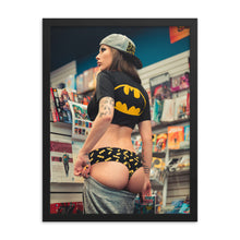 Load image into Gallery viewer, SEXY BAT-FAN - Framed poster