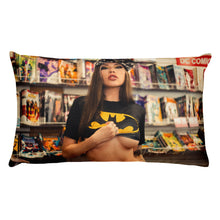 Load image into Gallery viewer, Premium Vera Bambi Bat Babe Pillow - DOUBLE SIDED