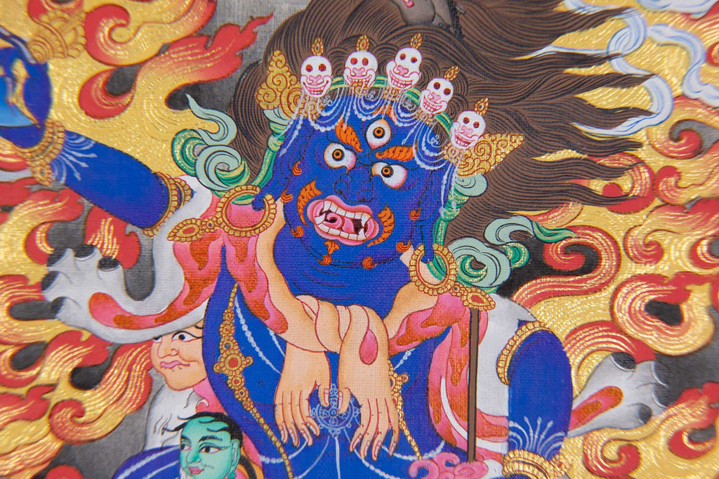 Throma Thangka - 3 Kayas - Medium