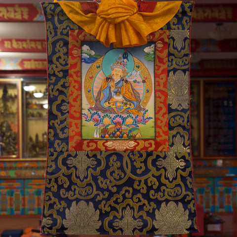 Guru Rinpoche Thangka - Mini