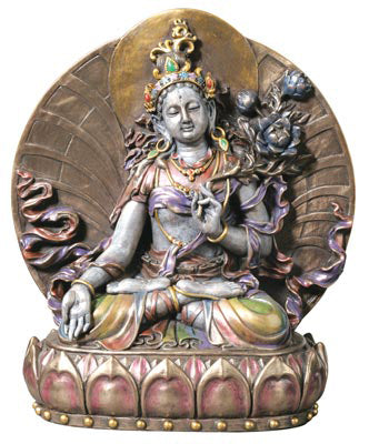 White Tara Cast Resin Statue