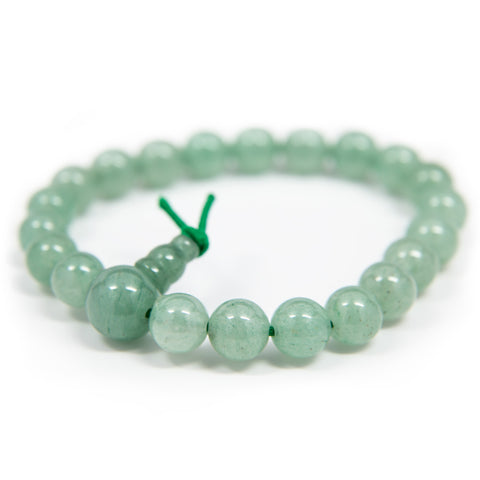 Adventurine Wrist Mala - 8mm