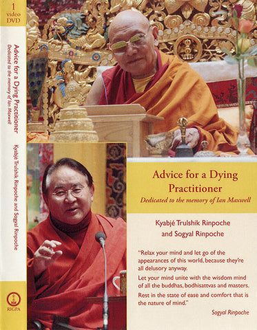 Advice for a Dying Practitioner DVD