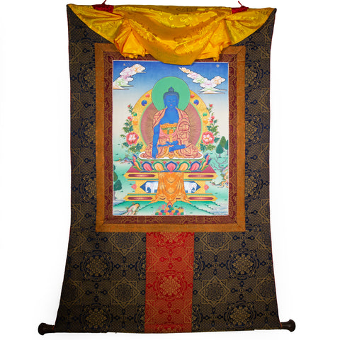 Akshobya Thangka - Large