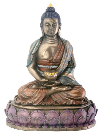 Amitabha Cast Resin Statue